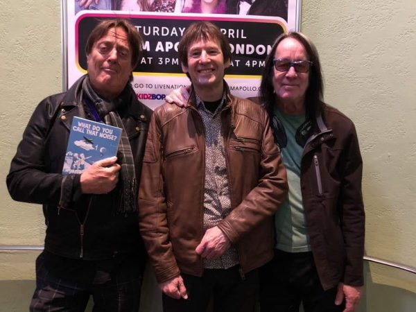 Prairie Prince, Dave Gregory and Todd Rundgren