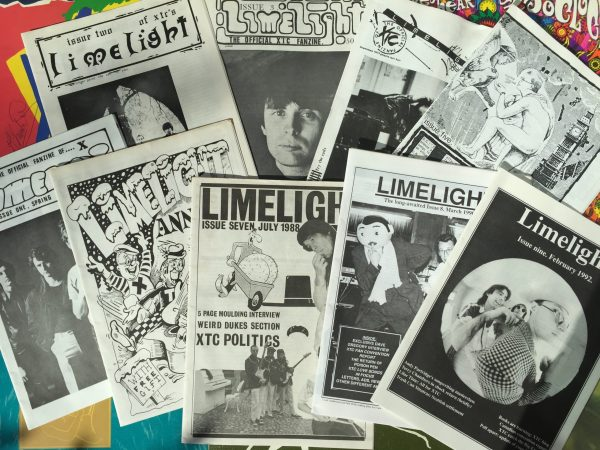 The Limelight collection reproduced in The XTC Bumper Book of Fun for Boys and Girls